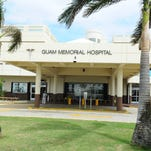 The front of the Guam Memorial Hospital.