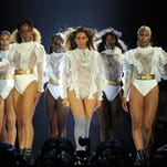MIAMI, FLORIDA - APRIL 27: In this handout photo provided by Parkwood Entertainment, Beyonce performs during the opening night of the Formation World Tour at Marlins Park on April 27, 2016 in Miami, Florida. (Photo by Frank Micelotta/Parkwood Entertainment via Getty Images) ORG XMIT: 634406699 ORIG FILE ID: 525182388