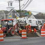 Drivers have been unable to make left turns offf of Route 70 in Cherry Hill due to PSE&G gas main work that  will finish next week