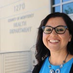 Elsa Jimenez, director of the Monterey County Department of Health, photographed on June 20th, 2016.