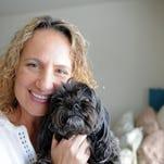 Three time breast cancer survivor still smiling