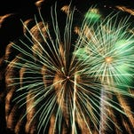 BOOMING FINISH: Fireworks close Liberty Fest with a bang