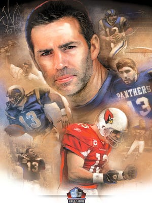 Kurt Warner was elected to the Pro Football Hall of Fame on Saturday, Feb. 4, 2017.