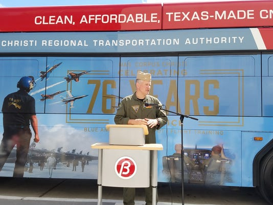 RTA unveils military themed bus