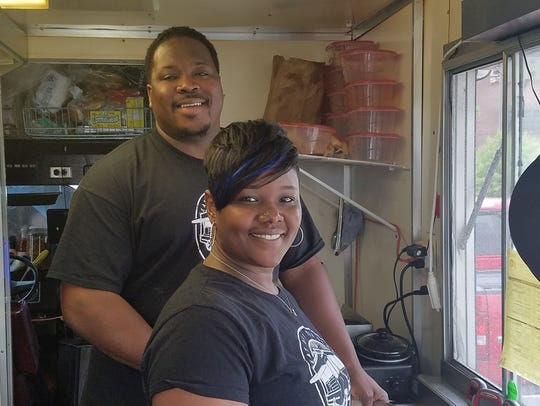 Saucy Jake's Street Food owners Jacob and Regina Richmond