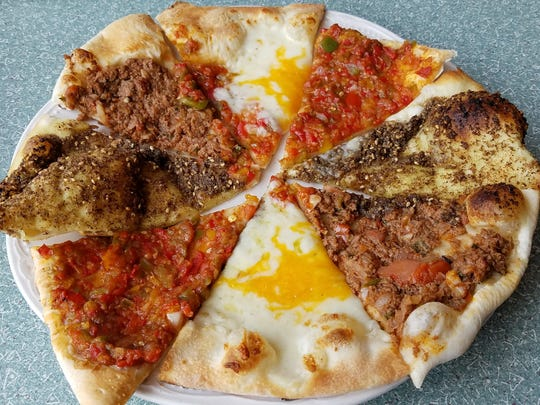 The za'atar manakeesh is essentially a medium-sized pizza using an ancient spice.