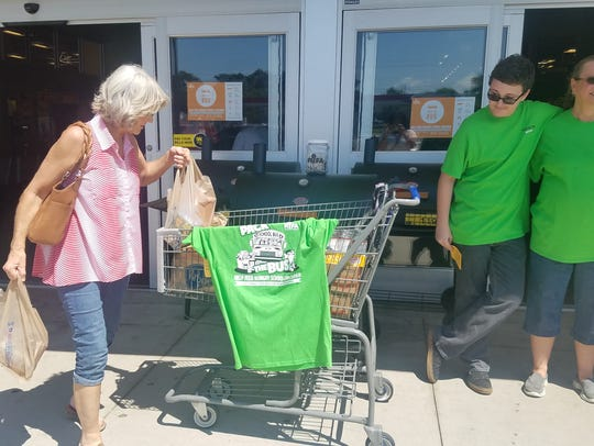 RIFA held their 6th annual Pack the Bus food drive