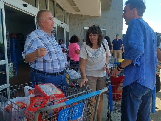 RIFA held their 6th annual Pack the Bus food drive to benefit the Snack Backpack ministry on August 19, 2017 in Jackson, Tenn. at Walmart and Kroger locations.