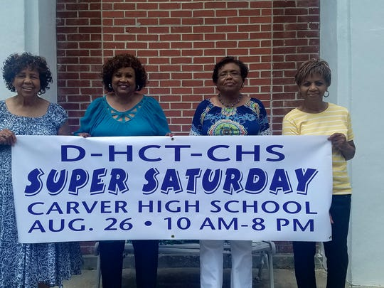 The Dunbar-Carver High School Alumni Association hosts 'Super Saturday' every year in Brownsville, Tenn.