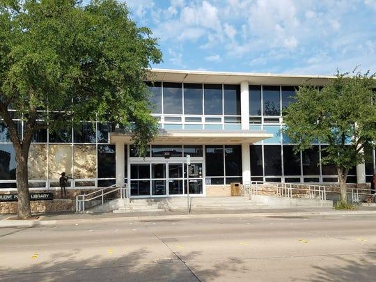 The Abilene Public Library downtown.