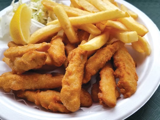 Fried Smelt Dinner from Captain Jim's Fish Market.