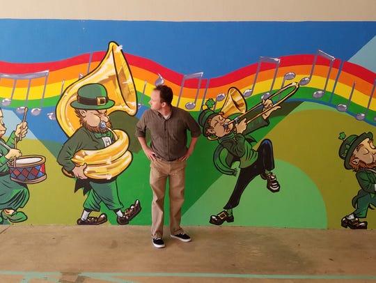 Killearn Lakes Elementary school art teacher Billy