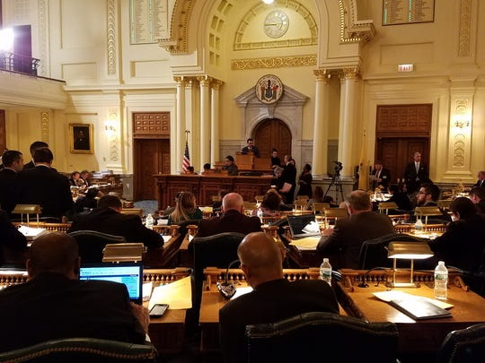 Vincent Prieto, D-Secaucus, presides over his final voting session as Assembly speaker on Jan. 8, 2017.