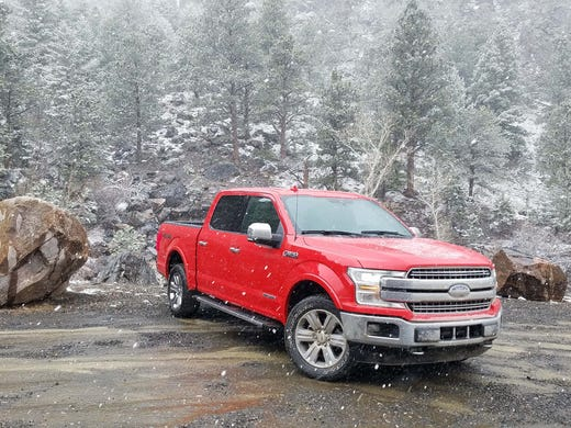 Review: Stealthy Ford F-150 diesel is tech-tastic