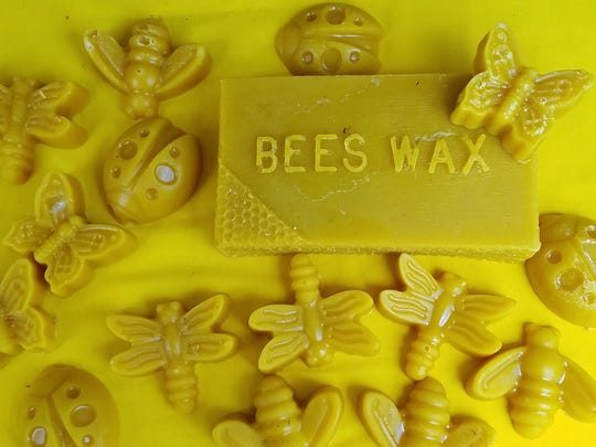 Beeswax from Kroeger's Greenhouse hives is light, soft and honey scented. Use it in your homemade lip balm, to polish unfinished wood, or in other crafts.
