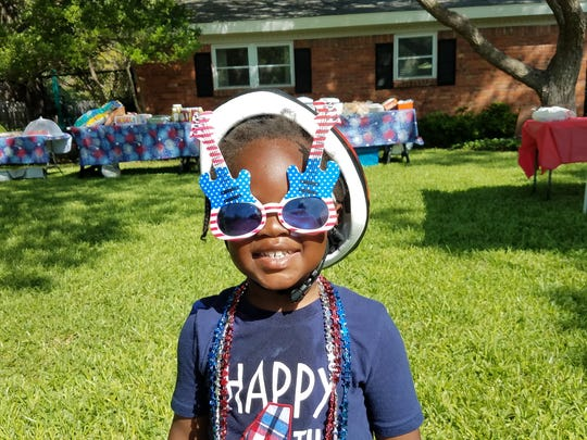 River Oak's 4th of July parade was a time for food,