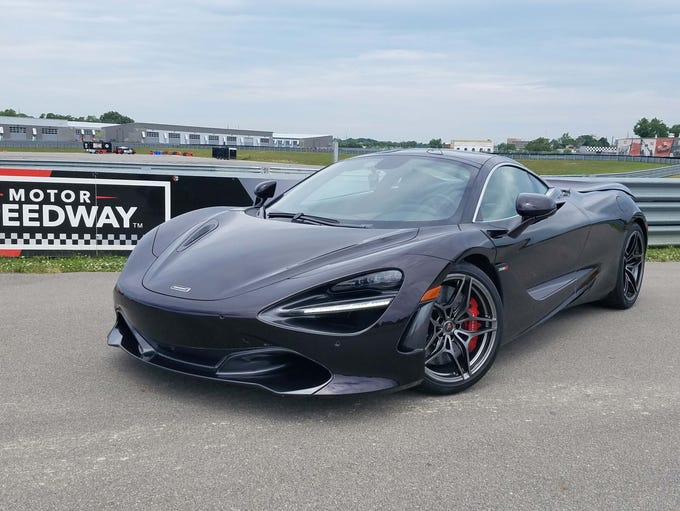 The gorgeous McLaren 720S is one of a fleet of supercars