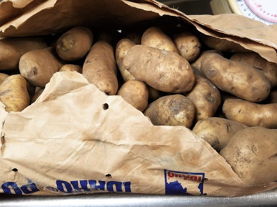 The potatoes that make the fries that make you happy. Idaho Russets aged for the perfect starch content.