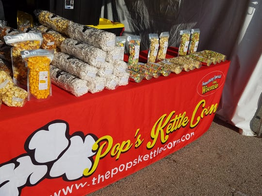 Pop's Kettle Corn offers over 50 flavors at their physical locations in Muskego and Waukesha. They have a more limited selection at the Waukesha County Fair, but still offer some unique flavors.