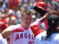 Mitch Albom: Angels' Mike Trout not worried about being a brand