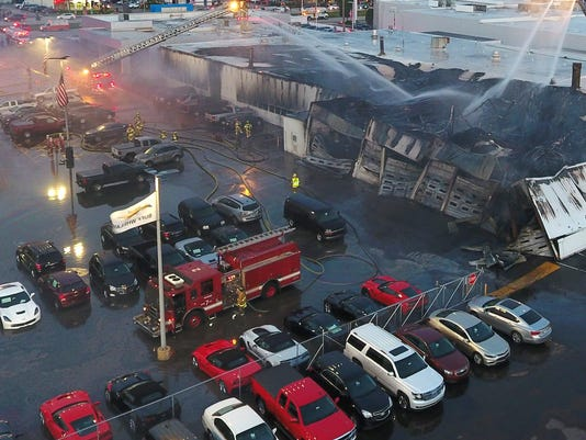 Video Shows How Fire At Buff Whelan Chevrolet Began