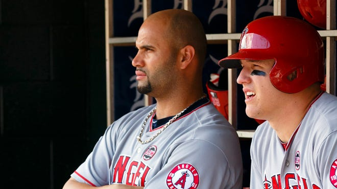 Albert Pujols' $240 million deal is already hampering the Angels and might hinder their ability to lock up MVP runner-up Mike Trout.