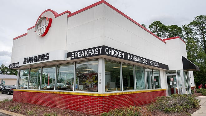 The Krystal restaurant on U.S. 1 is one of several national business that have closed in the area recently.