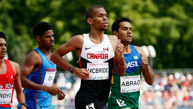 Former Mississippi State athlete Brandon McBride qualified for the 2016 Summer Olympics on Sunday.