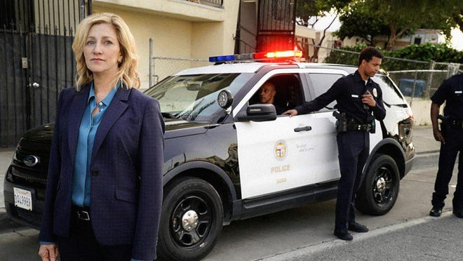 """Edie Falco plays the lead role in """"Tommy"""" as the first female chief of police for Los Angeles."""