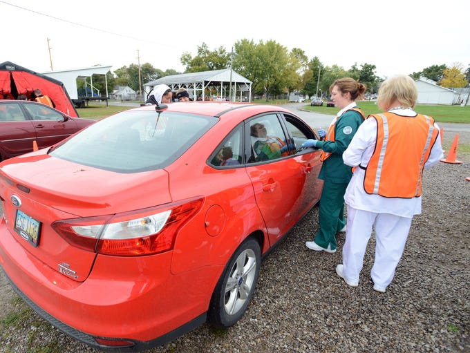 The Zanesville-Muskingum County Health Department hosted