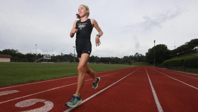 Lincoln freshman Alyson Churchill is the 2017 All-Big Bend Runner of the Year for girls track and field after finishing as state runner-up in both the 1600 and 3200 while posting top times in the state.