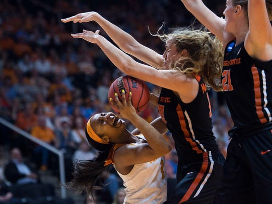 Mar 18, 2018; Knoxville, TN, USA; Tennessee  guard