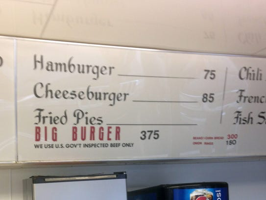 You can still get a small Scotties hamburger for just