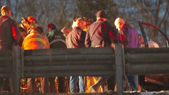 Green Oak firefighters, Livingston County paramedics