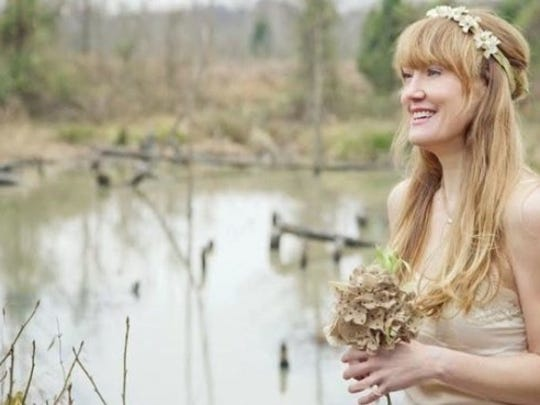 Contributed photo Angela Easterling performs Friday at SC Botanical Garden Amphitheater in Clemson.