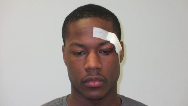This May 5, 2014, booking photo released by the Sherwood (Ark.) Police Department shows Phoenix Suns guard Archie Goodwin, who has been arrested on misdemeanor charges of disorderly conduct and resisting arrest on May 4, 2014,  in his hometown of Little Rock, Ark.