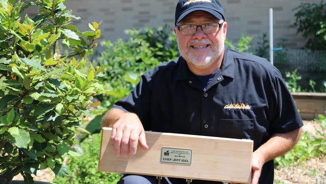 "Chef Jeff Igel, instructor and chair of the culinary arts program at Fox Valley Technical College, is the John ""Boss Hog"" Bertoldi Wisconsin BBQ Person of the Year."