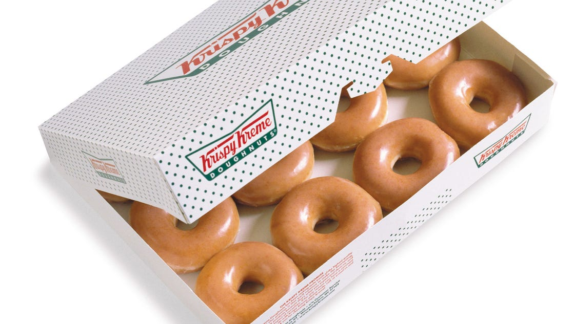 Krispy Kreme gift cards can be redeemed at US participating locations. Get A New Tee Krispy Kreme Donut T Shirt. by Get A New Tee. $ - $ $ 15 $ 21 out of 5 stars 3. Krispy Kreme Doughnuts Cake Mix with Original Doughnut Glaze. by Krispy Kreme. $ $ 15 FREE Shipping on eligible orders.
