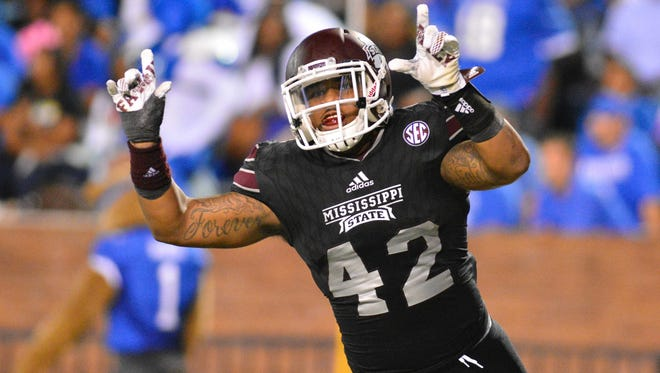 Beniquez Brown helped Mississippi State's linebackers overcome the loss of two starters from last  year.