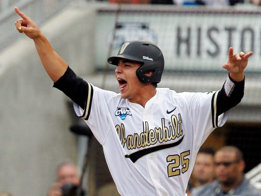 NCAA Baseball: College World Series-Louisville vs Vanderbilt