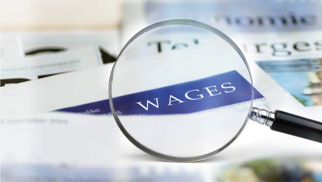 File Illustration - Wages