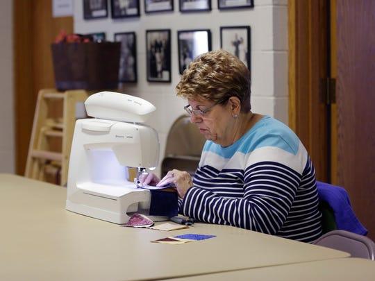 Linda McLarnan, who has been part of the Golden Needle