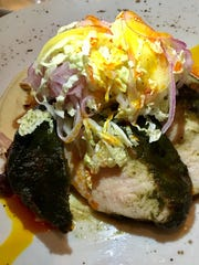 The wet-jerk pork ribeye at the Fat Snook in Cocoa