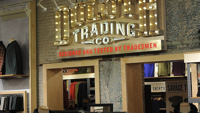 Duluth Trading Co. in downtown Sioux Falls on Friday, Oct. 30, 2015.