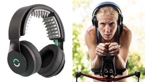 A device that stimulates your brain as you train.