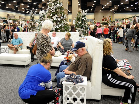 In this file photo, shoppers enjoy Christmas Magic 2016 at MPEC. This year's holiday shopping extravaganza begins Nov. 2.