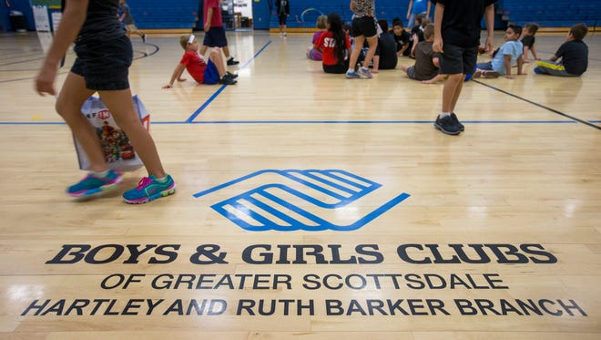 The Boys  & Girls Clubs' central mission is giving  youths a safe environment to gather. The Boys & Girls Clubs organization in Scottsdale serves about 17,800  youths.