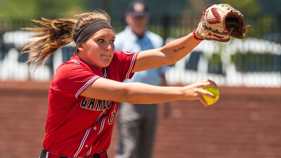 Jacksonville State ace Whitney Gillespie has a 16-2 record with a 0.94 ERA.