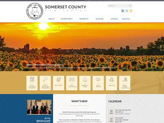 Somerset County has updated its website.