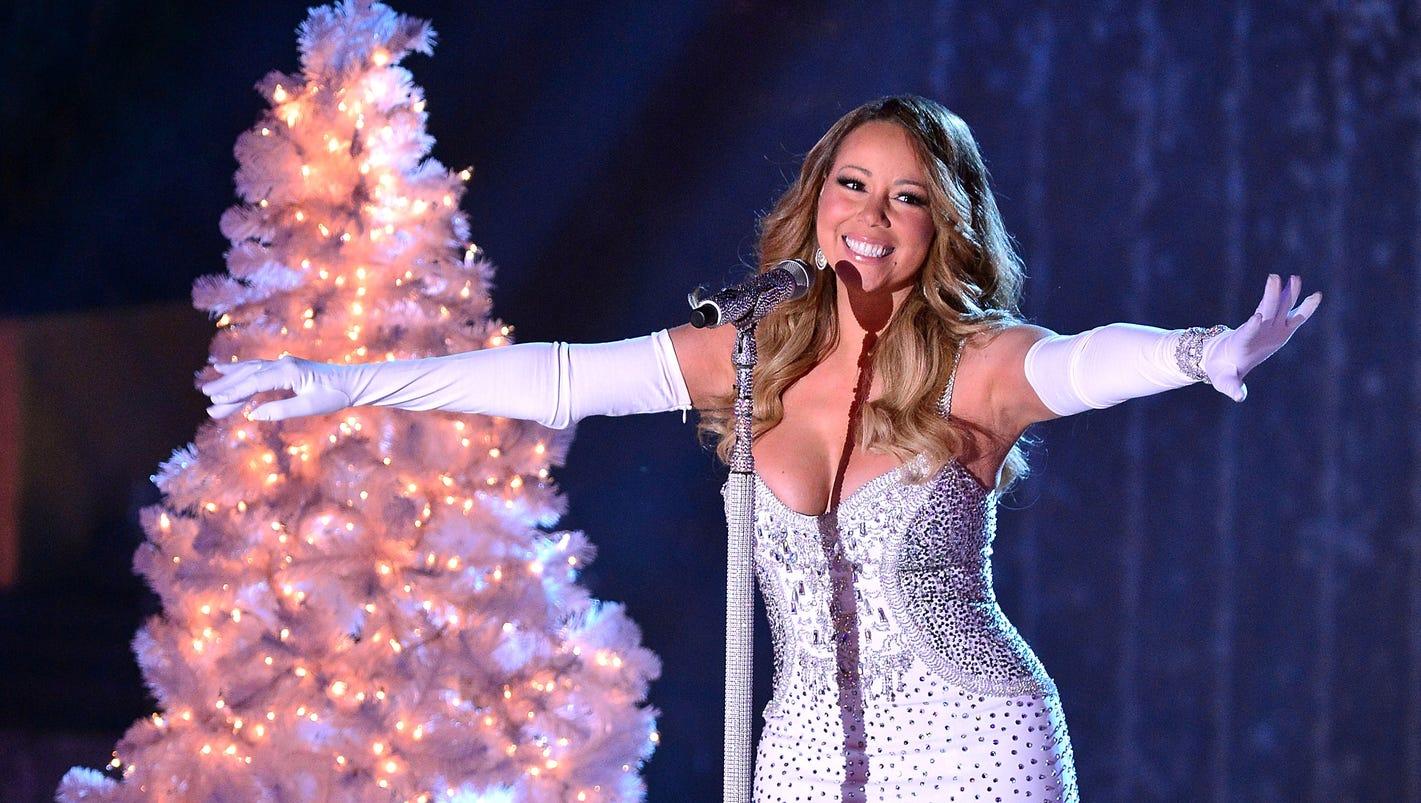 Mariah Carey tops Hall... Mariah Carey Christmas